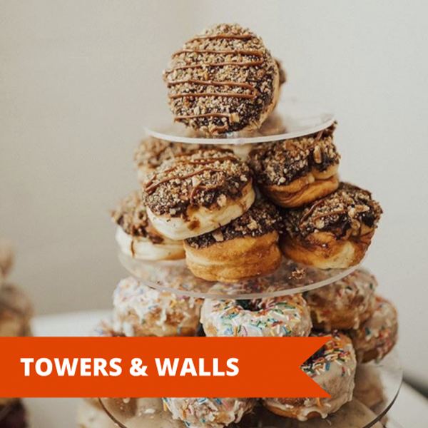 Doughnut Towers and Walls