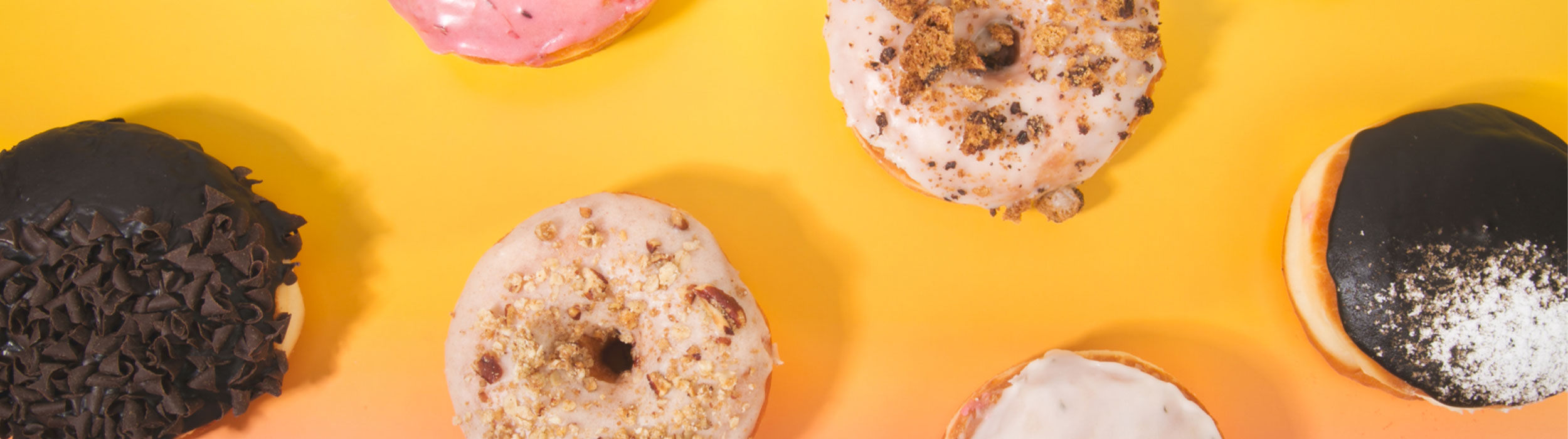 Doughnuts, overhead flavours